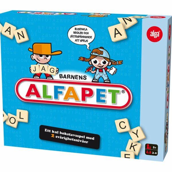 Alga Barnens alfapet, Sällskapsspel 6 - 9 år