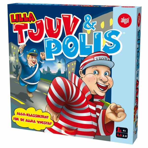 Alga Lilla Tjuv och polis sällskapsspel 4+ år