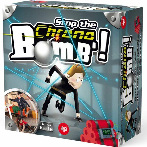 Alga Sällskapsspel, Stop the Chrono Bomb 6+ år