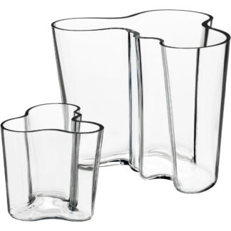 Iittala Alvar Aalto Collection Vas Gåvoset 160+95mm Klar