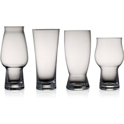 Lyngby Glas Ölglas 4 st
