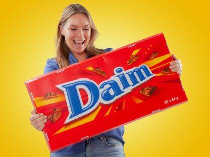 Gigantiskt Choklad Daim