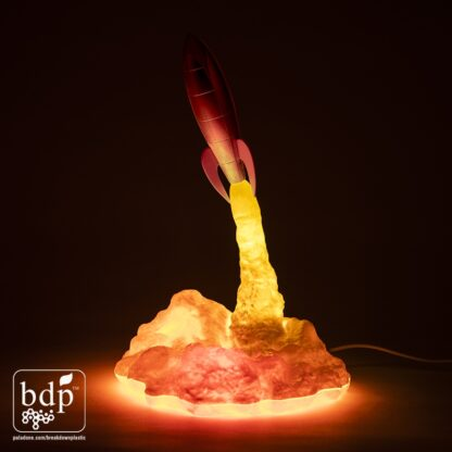 Blast Off Raket Lampa