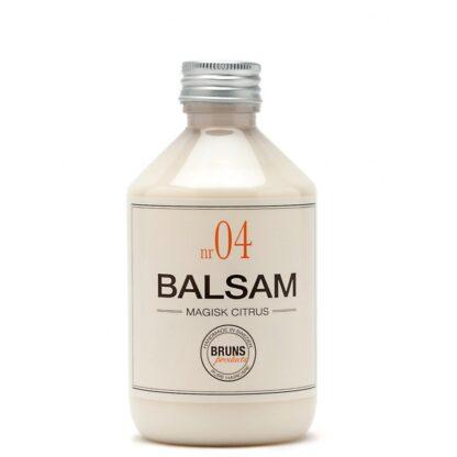 Bruns Products Balsam 04 Magisk Citrus 330ml - För normalt & torrt hår, även balsammetoden