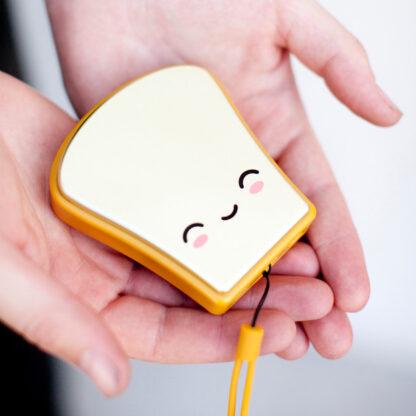 Elektronisk Handvärmare Butta Toast Kawaii