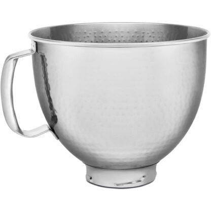 KitchenAid skål i rostfritt Hammered 4,7 L
