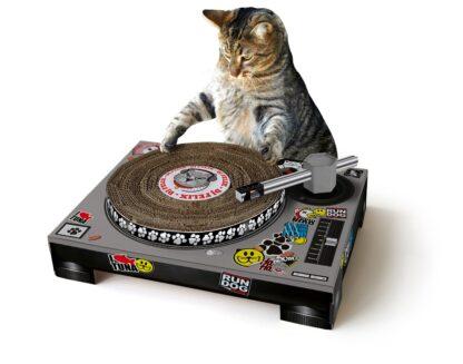 Klösbräda - Cat Scratch Turntable