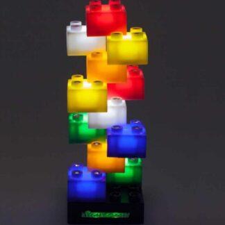 LED Light Stax - Bygg Din Egen Lampa 12-delar