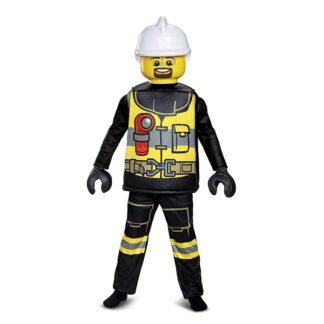 LEGO Brandman Deluxe Maskeraddräkt Barn