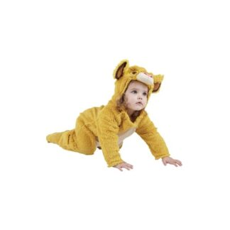 Lejonkungen Simba Maskeraddräkt Barn