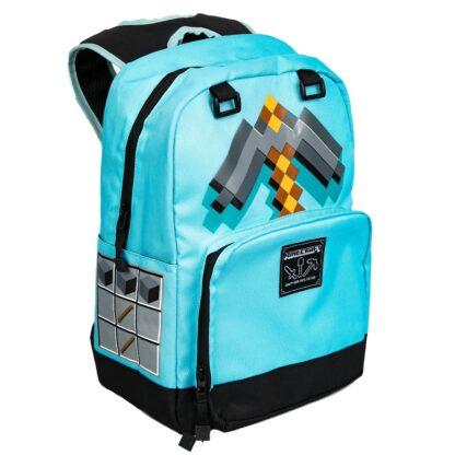 Minecraft Diamond Pickaxe Ryggsäck
