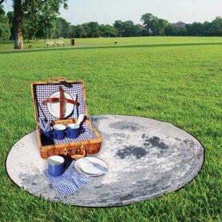 Picknickfilt Månen