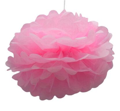 Pom pom, ljus rosa