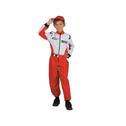 Raceoverall Maskeraddräkt Barn, SMALL