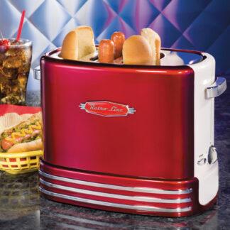 Retro hotdog popup toaster