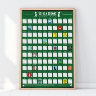 Scratch Off Bucket List Golfbanor