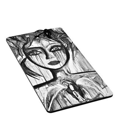 Skärbräda Slice of Life 40x20 cm Svart/Vit