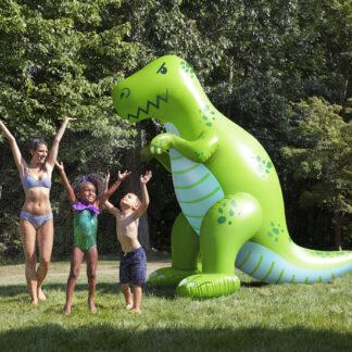 Vattenspridare Uppblåsbar Gigantisk T-Rex