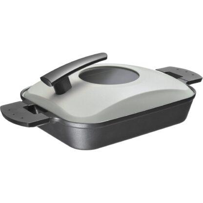 Witt Steam Grill, svart m. stållock