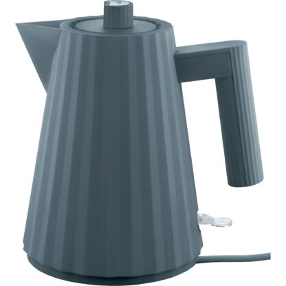 Alessi MDL06 Plissé vattenkokare 1 liter, grå