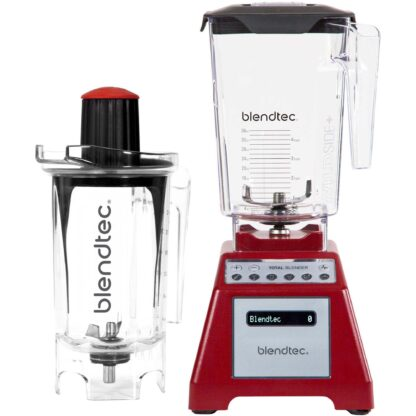 Blendtec Total Blender Red med Twister Jar Kanna