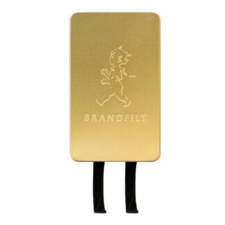 Brandfilt 120x120 cm Guld