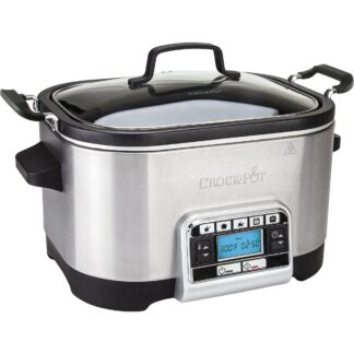 Crock-Pot Multifunktionell Slowcooker 5,6 L Timer