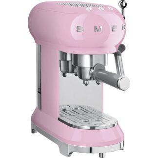 Espressomaskin 50-tals stil rosa