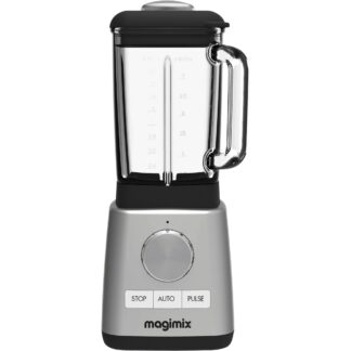 Magimix Power Blender Matt Stål med Glaskanna 1,8l