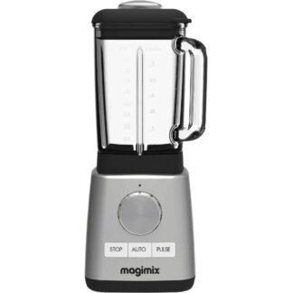 Magimix Power Blender Matt Stål med Glaskanna 1,8l