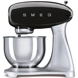 Smeg Köksmaskin 4.8L - Svart SMF01BLEU